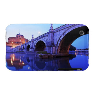 Ponte Sant' Angelo and Castel Sant' Angelo over iPhone 3 Case