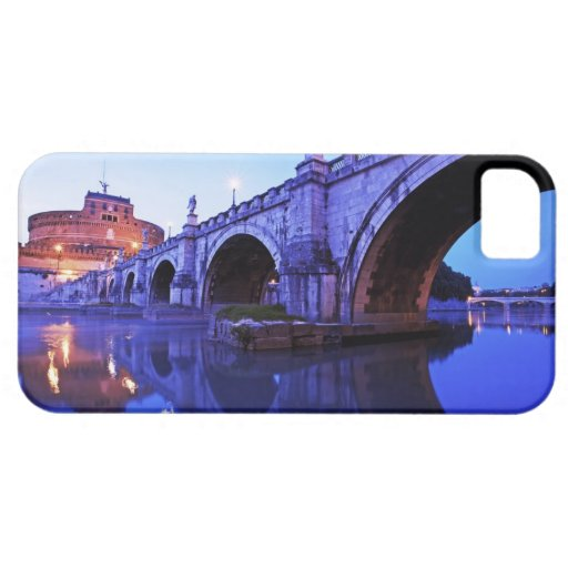 Ponte Sant' Angelo and Castel Sant' Angelo over iPhone 5 Cover