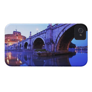 Ponte Sant' Angelo and Castel Sant' Angelo over iPhone 4 Case