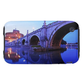 Ponte Sant' Angelo and Castel Sant' Angelo over iPhone 3 Tough Covers