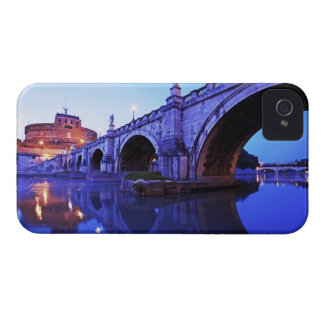 Ponte Sant' Angelo and Castel Sant' Angelo over iPhone 4 Cover