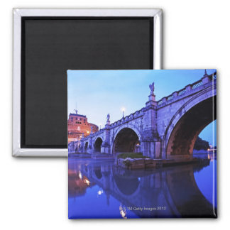 Ponte Sant' Angelo and Castel Sant' Angelo over Magnet