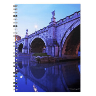Ponte Sant' Angelo and Castel Sant' Angelo over Notebooks