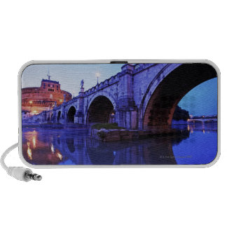 Ponte Sant' Angelo and Castel Sant' Angelo over Laptop Speakers