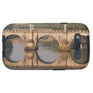 Ponte Sant'Angelo, río de Tíber, Roma, Italia Samsung Galaxy S3 Cárcasa