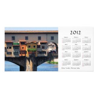 Ponte Vecchio 2012 Calendar Photo Card