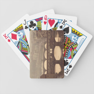 Ponte Vecchio and Arno Bicycle Playing Cards