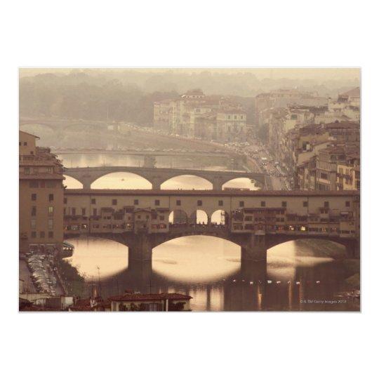 Ponte Vecchio and Arno Card