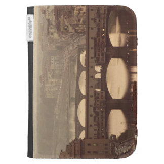 Ponte Vecchio and Arno Kindle Keyboard Case