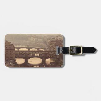 Ponte Vecchio and Arno Luggage Tags
