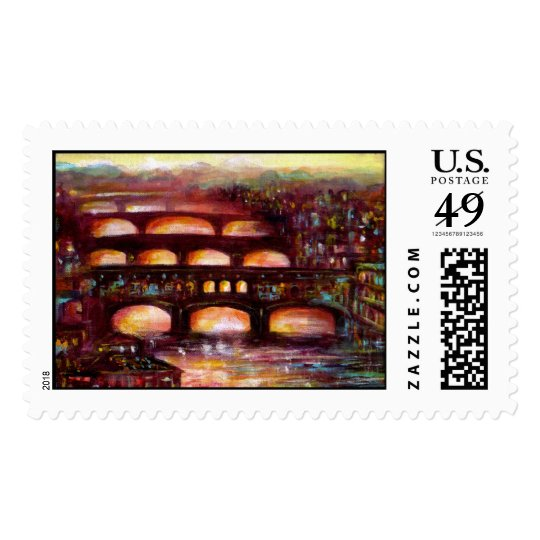 Ponte Vecchio and Other Bridges of Florence Postage