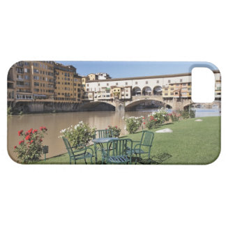 Ponte Vecchio and table along Arno Rive iPhone 5 Cases