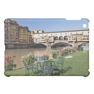 Ponte Vecchio and table along Arno Rive Cover For The iPad Mini
