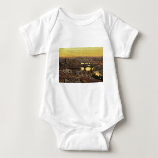 Ponte Vecchio  Bridge Baby Bodysuit