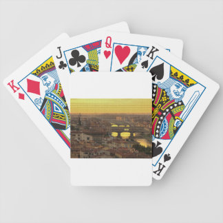 Ponte Vecchio  Bridge Bicycle Playing Cards