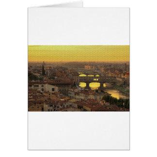 Ponte Vecchio  Bridge Card