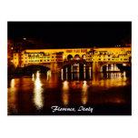 Ponte Vecchio bridge in Florence, Italy Postcard