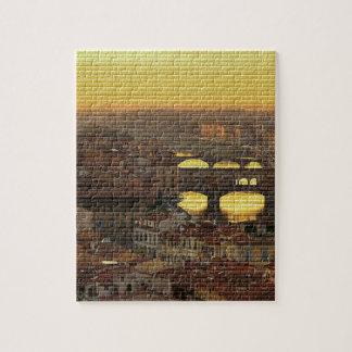 Ponte Vecchio  Bridge Jigsaw Puzzle