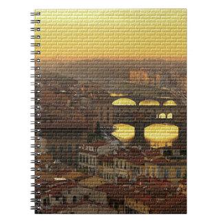 Ponte Vecchio  Bridge Notebook