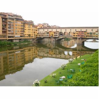 Ponte Vecchio Bridge Photo Sculpture Magnet