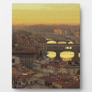 Ponte Vecchio  Bridge Plaque