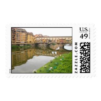 Ponte Vecchio Bridge Postage Stamp