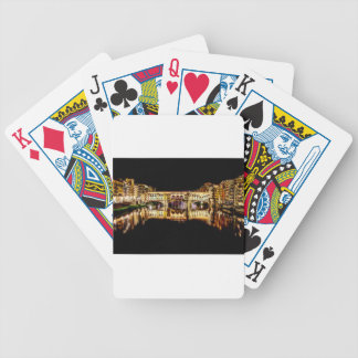Ponte Vecchio by night Bicycle Playing Cards