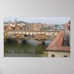 Ponte Vecchio, Firenze, Italia Posters