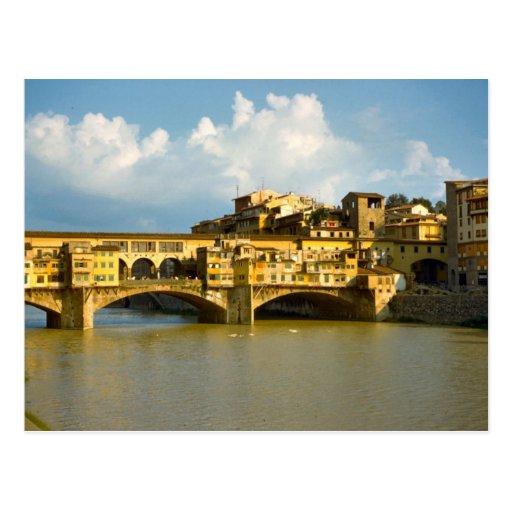 Ponte Vecchio, Firenze Postcard