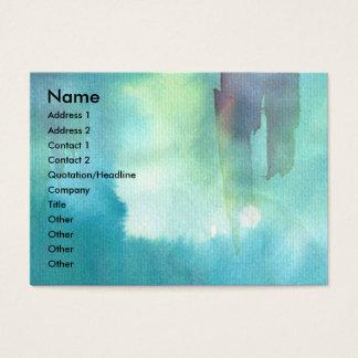 PONTE VECCHIO  -Florence, blue,pink Business Card