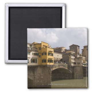 Ponte Vecchio Florence Italy 2 2 Inch Square Magnet