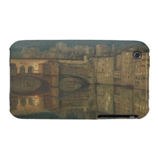 Ponte Vecchio, Florence (oil on canvas) iPhone 3 Covers