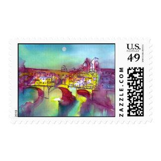 Ponte Vecchio -Florence Postage