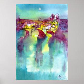 Ponte Vecchio -Florence Poster