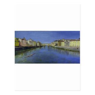 Ponte Vecchio, Florencia, Italia Tarjeta Postal