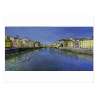 Ponte Vecchio, Florencia, Italia Postal