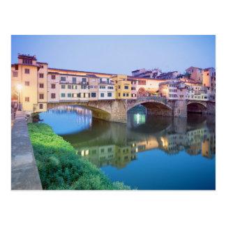 Ponte Vecchio Florencia Italia Tarjetas Postales