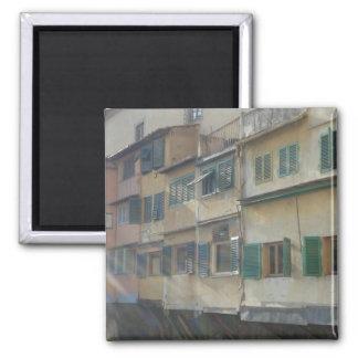 Ponte Vecchio 2 Inch Square Magnet