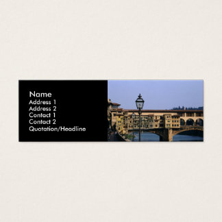 Ponte Vecchio | Mini Business Card