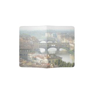 Ponte Vecchio Old Bridge Florence Italy Passport Holder