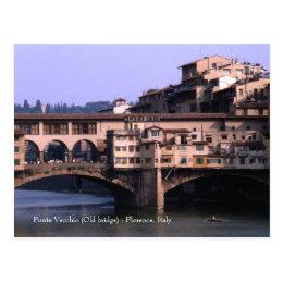 Ponte Vecchio (Old bridge) | Postcard