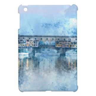 Ponte Vecchio on the river Arno in Florence, Italy iPad Mini Case