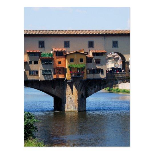 Ponte Vecchio Postcard