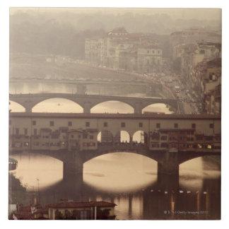 Ponte Vecchio y Arno Azulejos Cerámicos