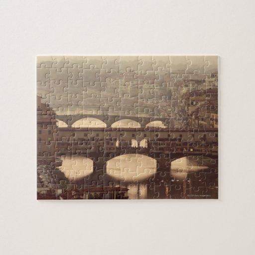 Ponte Vecchio y Arno Puzzle