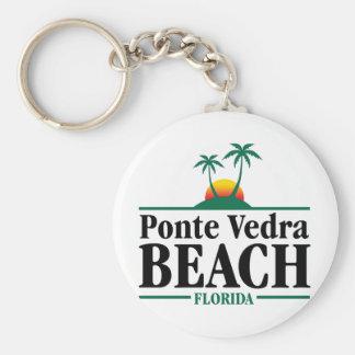 Ponte Vedra Beach Keychain