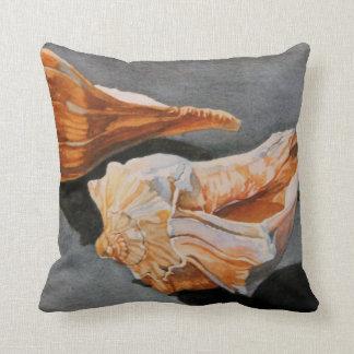 Ponte Vedra Beach Whelks Throw Pillow