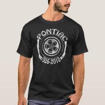 Pontiac 1926 - 2010 Rally II Wheel Graphic T-Shirt