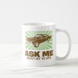 Pontiac 1967 GTO Tazas