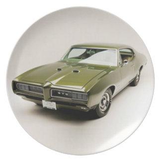 Pontiac 1968 GTO Plato De Comida